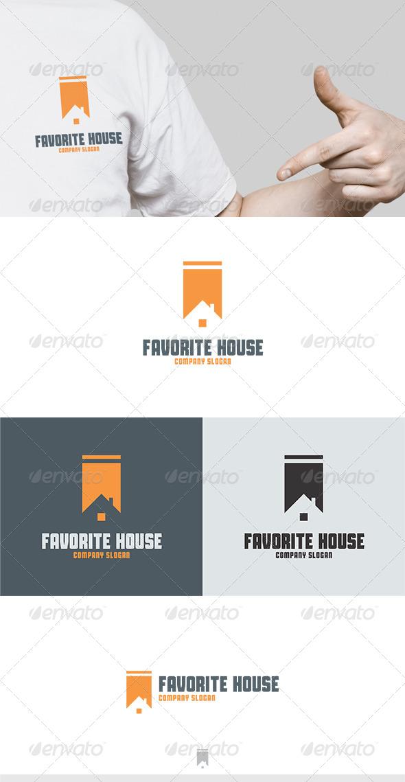 GraphicRiver Favorite House Logo 5434956