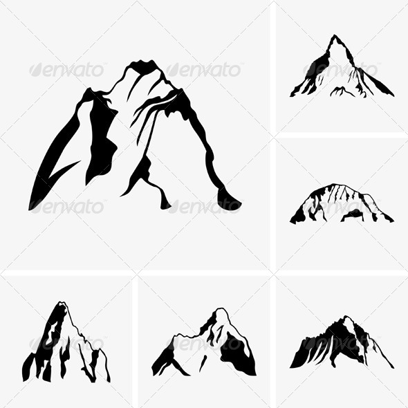 GraphicRiver Mountain Peaks 5435016
