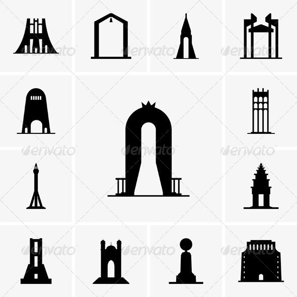 GraphicRiver Monuments 5435026