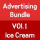 Ice Cream Advertising Bundle - GraphicRiver Item for Sale