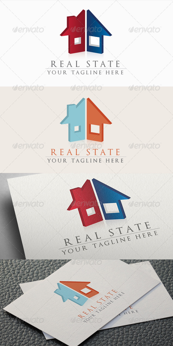 GraphicRiver Real State Logo 5430376