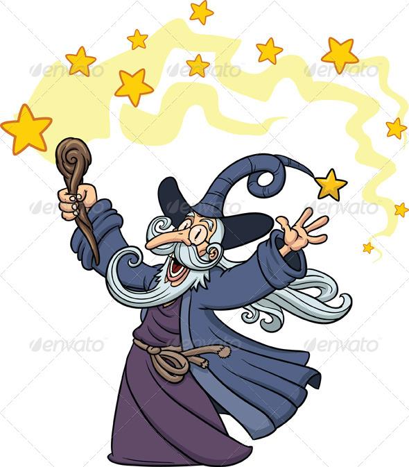 GraphicRiver Cartoon Wizard 5436016