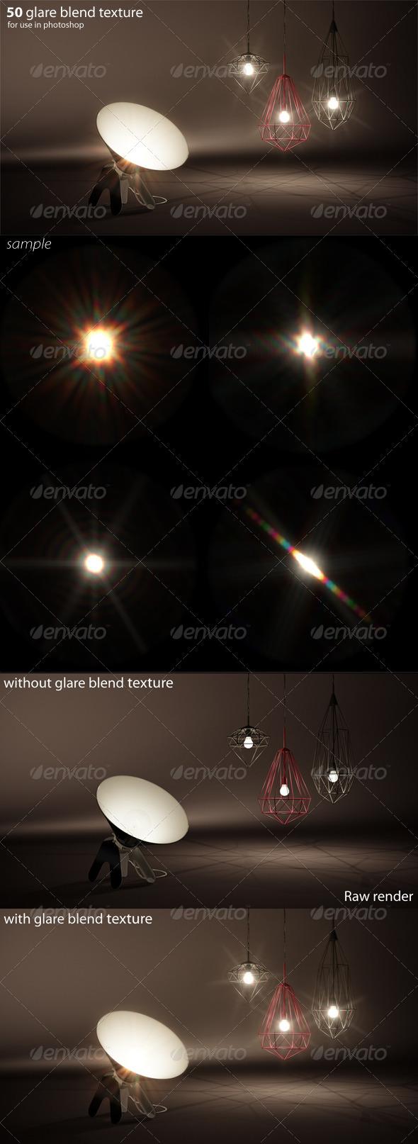 3DOcean 50 glare textures 5436322