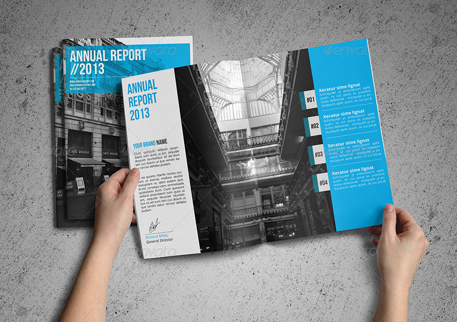 Annual Report Template by Realstar – Annual Reports Templates