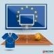 Download Vector Vector Illustration Basketball Background