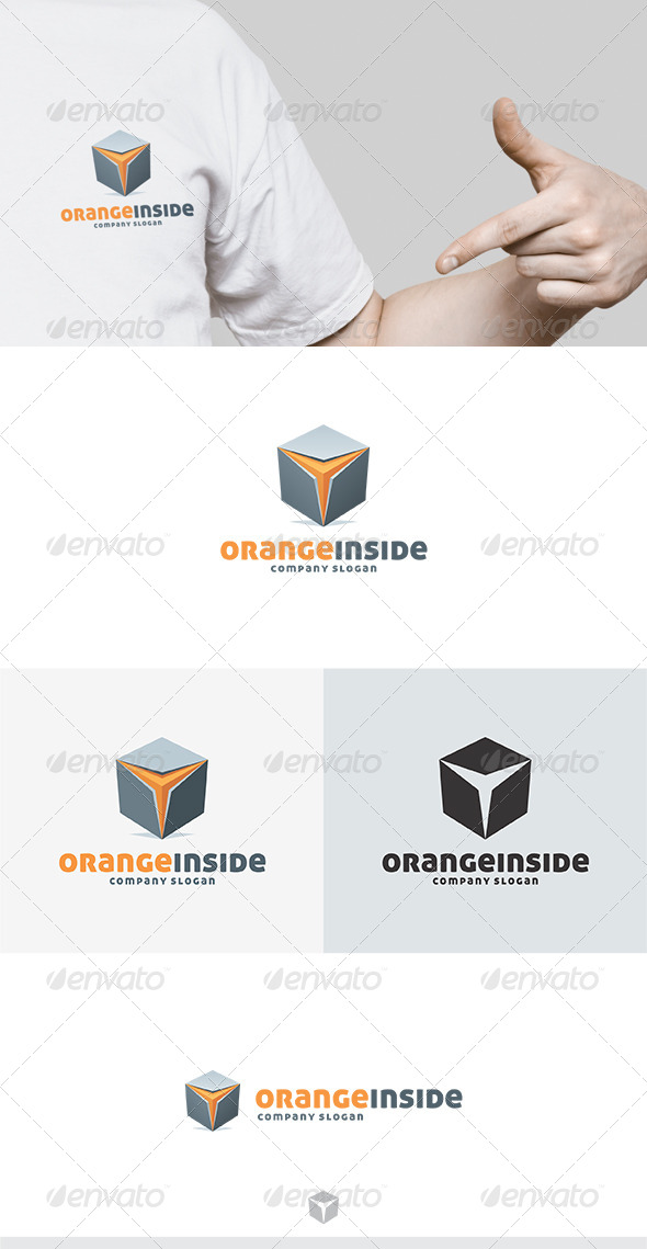 GraphicRiver Orange Inside Logo 5436717