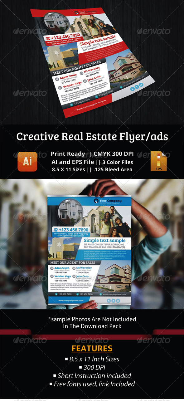 GraphicRiver Premium Real Estate Flyer Ads 5437105
