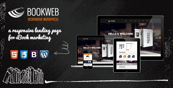 ThemeForest Bookish WP Theme for Book Authors & Marketers 5437436