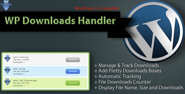 Downloads Handler WordPress Downloads Manager