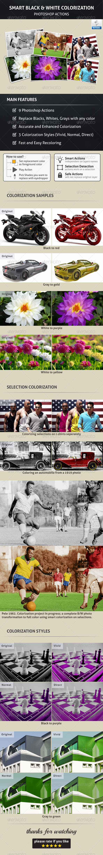 GraphicRiver Smart Black & White Colorization 5438335
