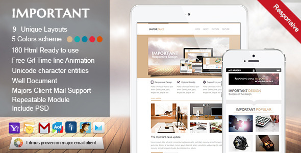 ThemeForest IMPORTANT-Responsive Email Template 5429994