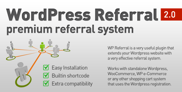 CodeCanyon WordPress Referral Plugin 5393776