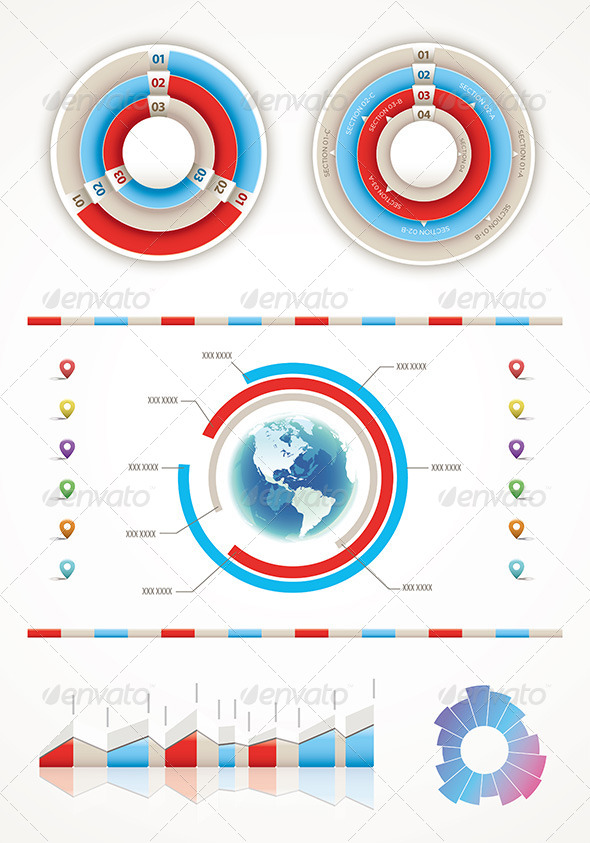 GraphicRiver Infographic Elements 4614736