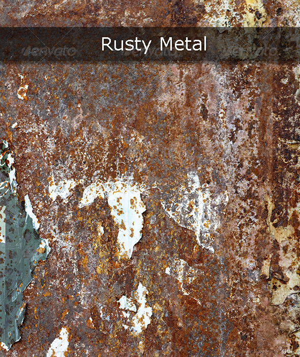GraphicRiver Rusty Metal 5441069