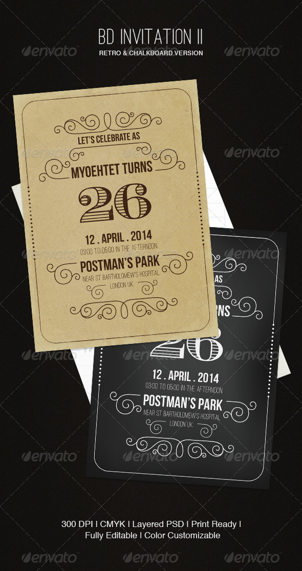 GraphicRiver BD Invitation II 5441089