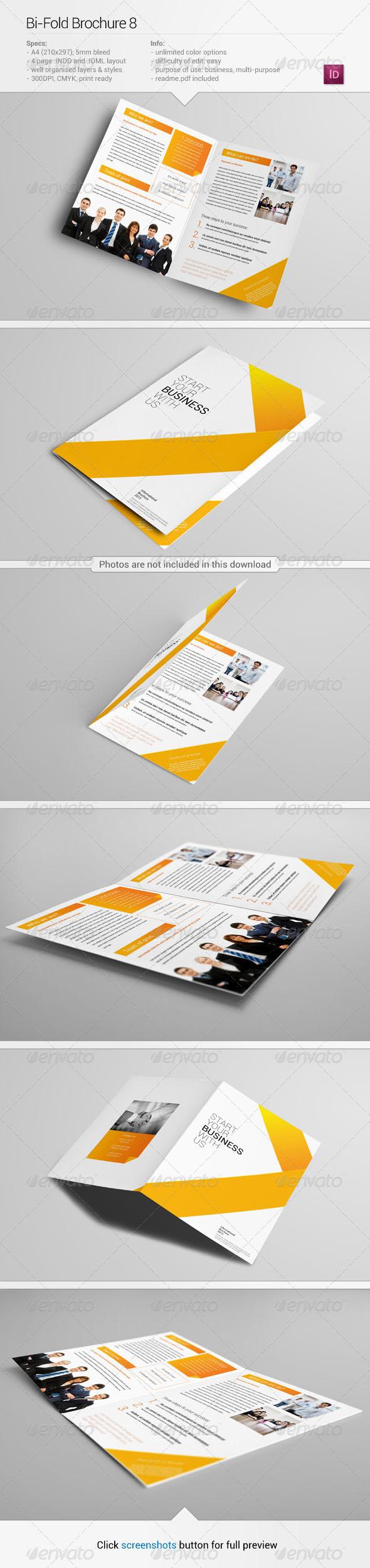 Bi-Fold Brochure 8 - Corporate Brochures