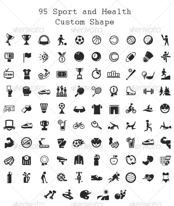 95 Sport and Health Custom Shape