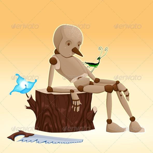 GraphicRiver Pinocchio 5442109