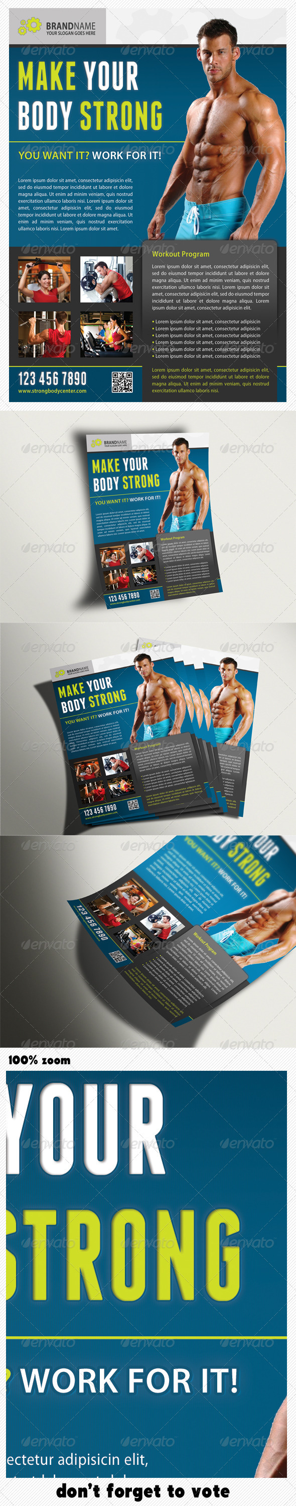 GraphicRiver Sport Multipurpose Flyer 02 5442236