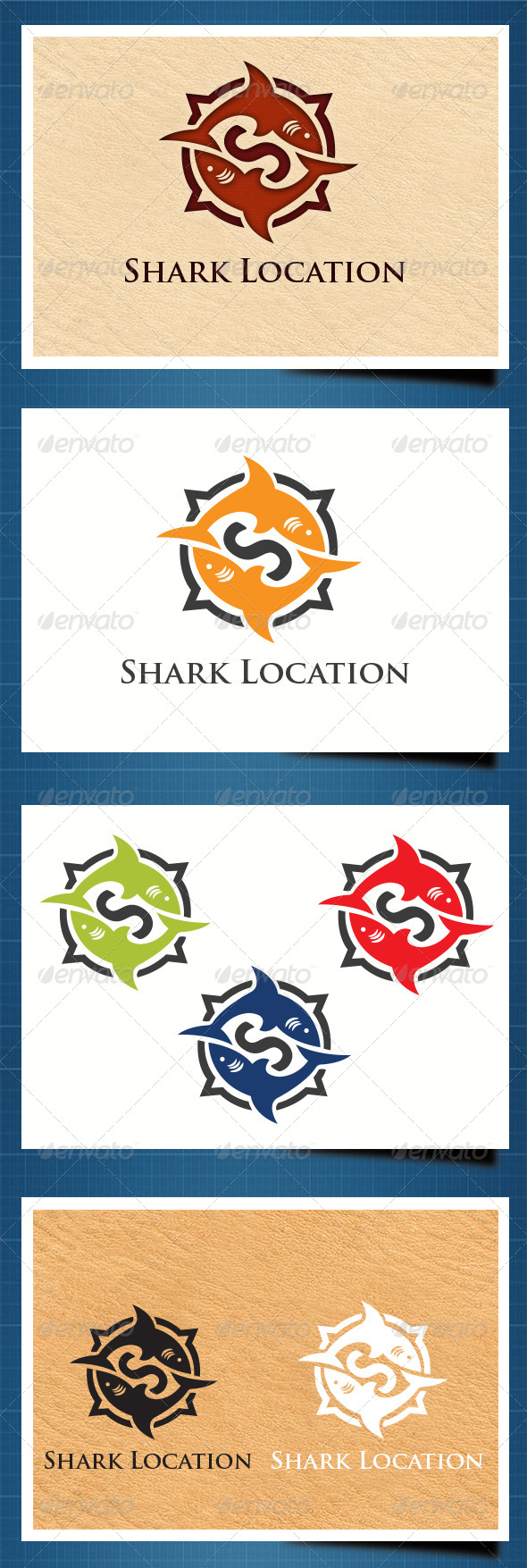 GraphicRiver Shark Compass 5442320
