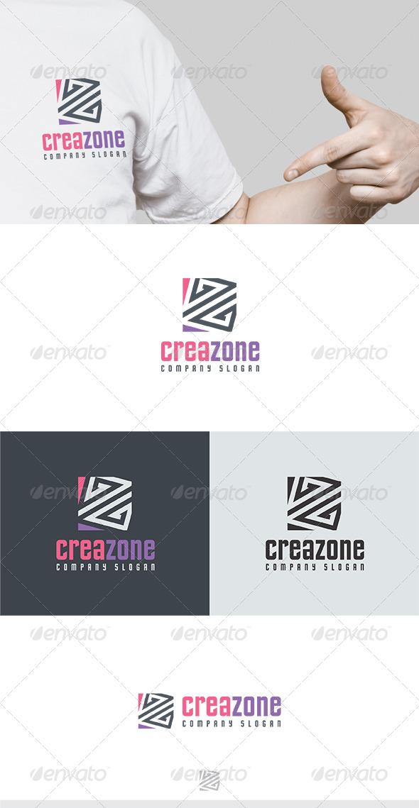 Crea Zone Logo - Letters Logo Templates