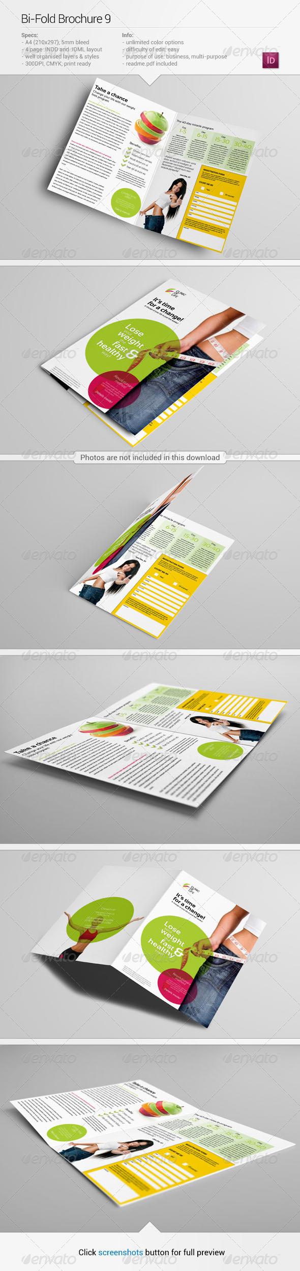 Bi-Fold Brochure 9 - Informational Brochures