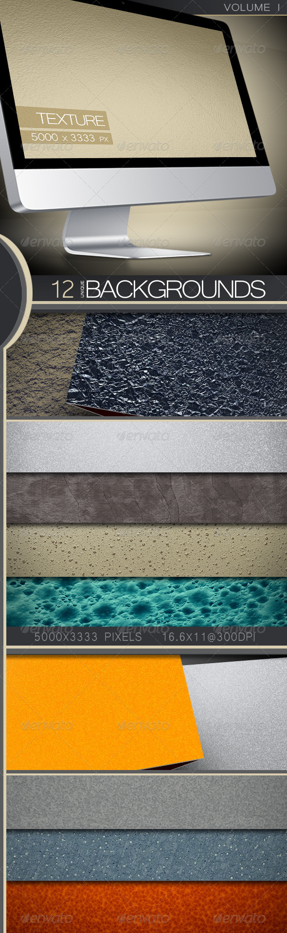 GraphicRiver Texture Backgrounds Volume 1 5443400