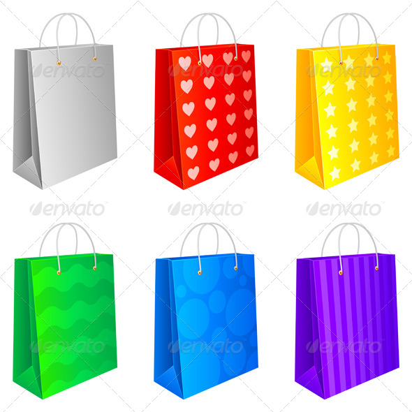 GraphicRiver Shopping Bags 5443559