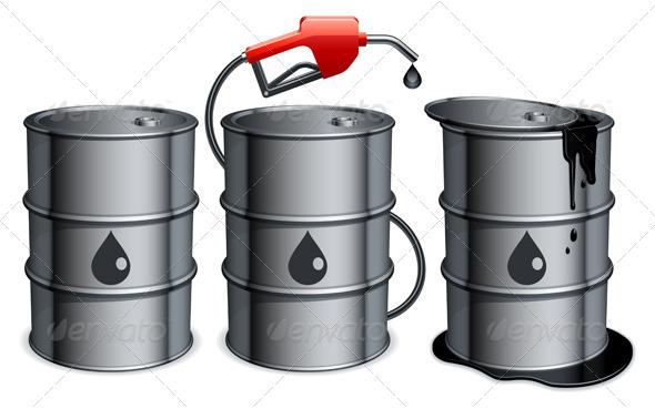 GraphicRiver Oil Barrels 5443562