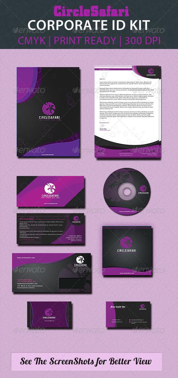 GraphicRiver Circlesafari Corporate Id Pack 2827810