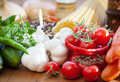 Vegetable and spaghetti pasta - PhotoDune Item for Sale