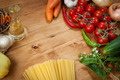 Vegetable and spaghetti pasta - PhotoDune Item for Sale