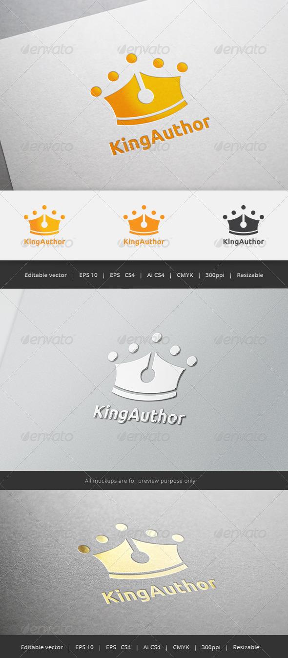 GraphicRiver King Author Logo 5443835