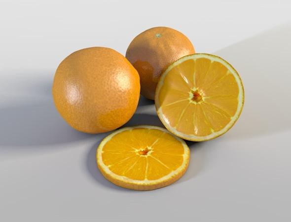 3DOcean Orange 5443957