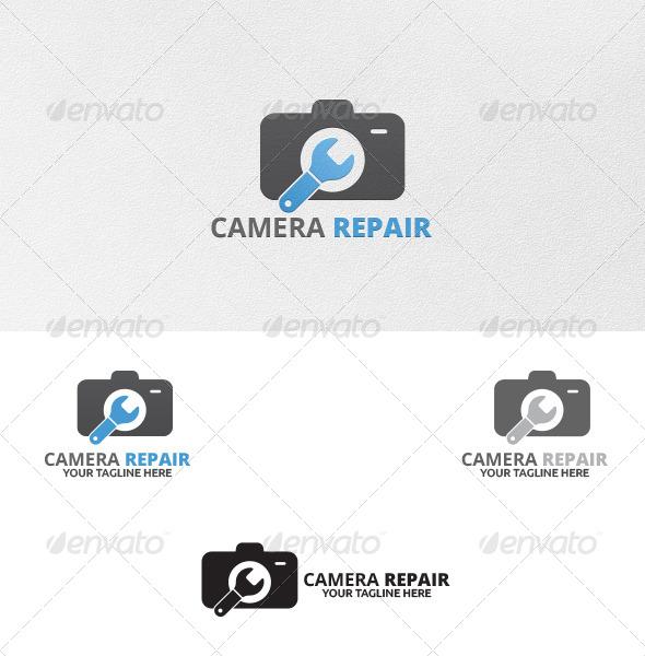 GraphicRiver Camera Repair Logo Templates 5444178