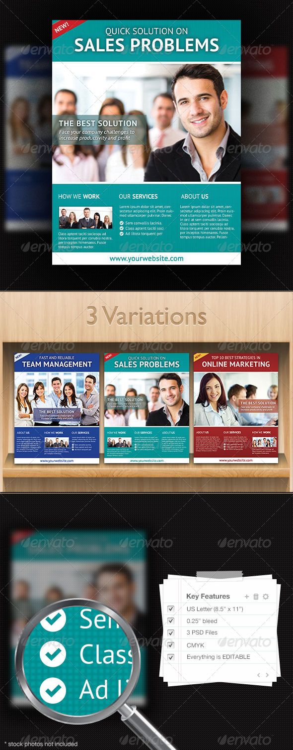 GraphicRiver Corporate Flyer Design Template 1 4348821