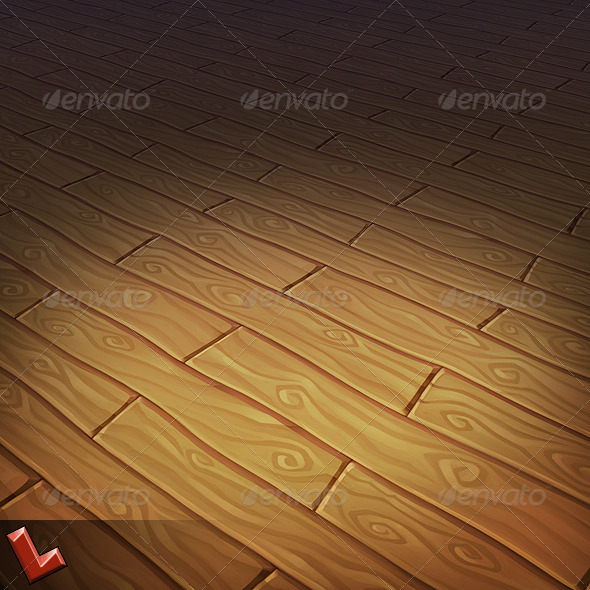 Wooden Floor Tile 02