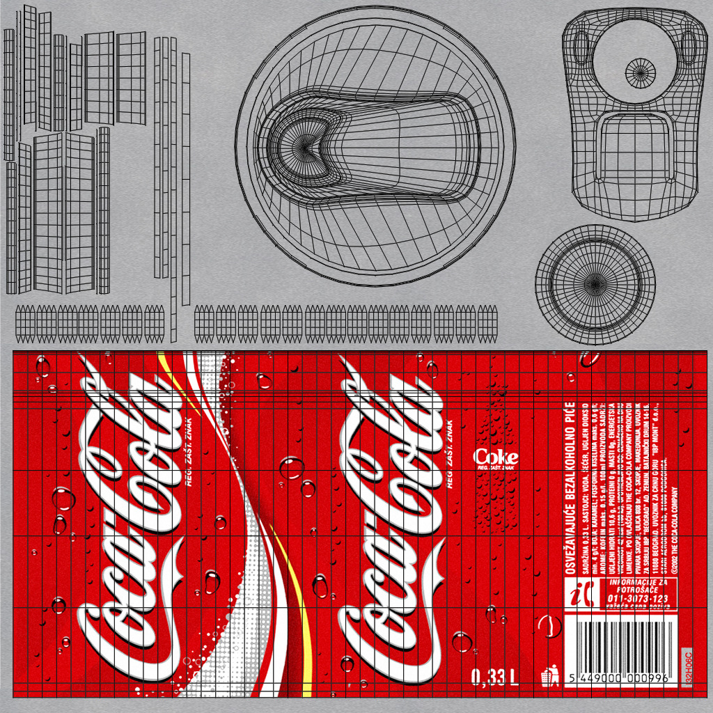 Coca Cola Can By Mladenca 3docean