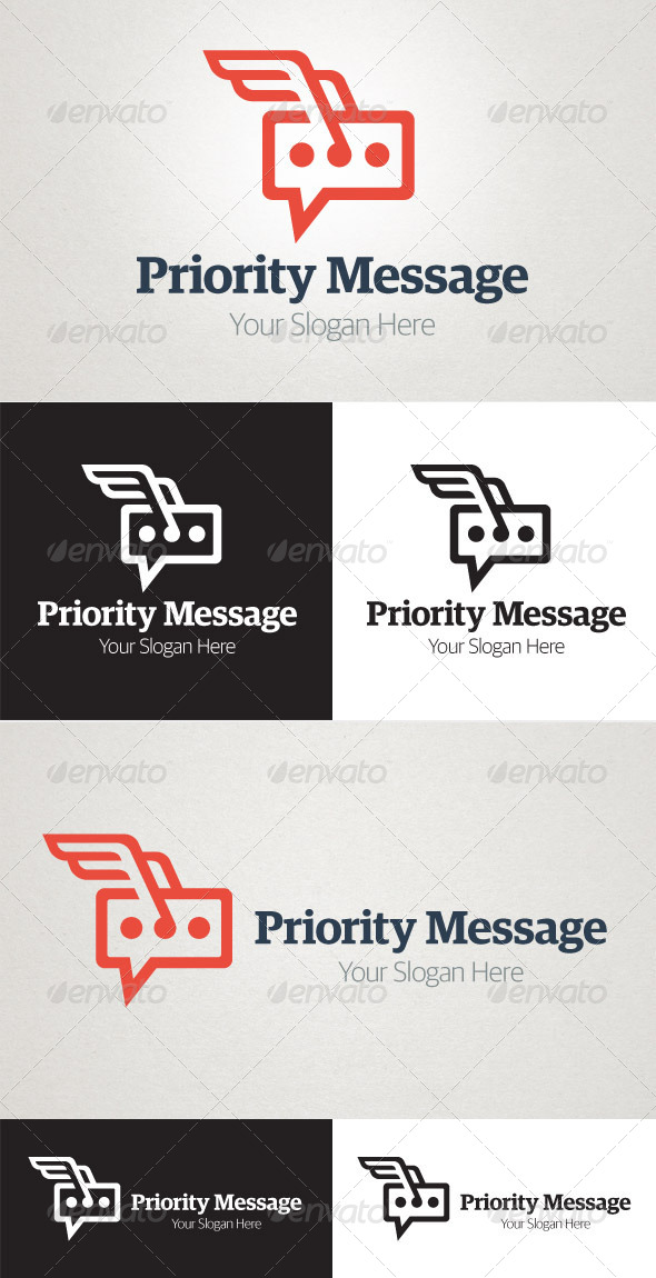 GraphicRiver Priority Message 5444625