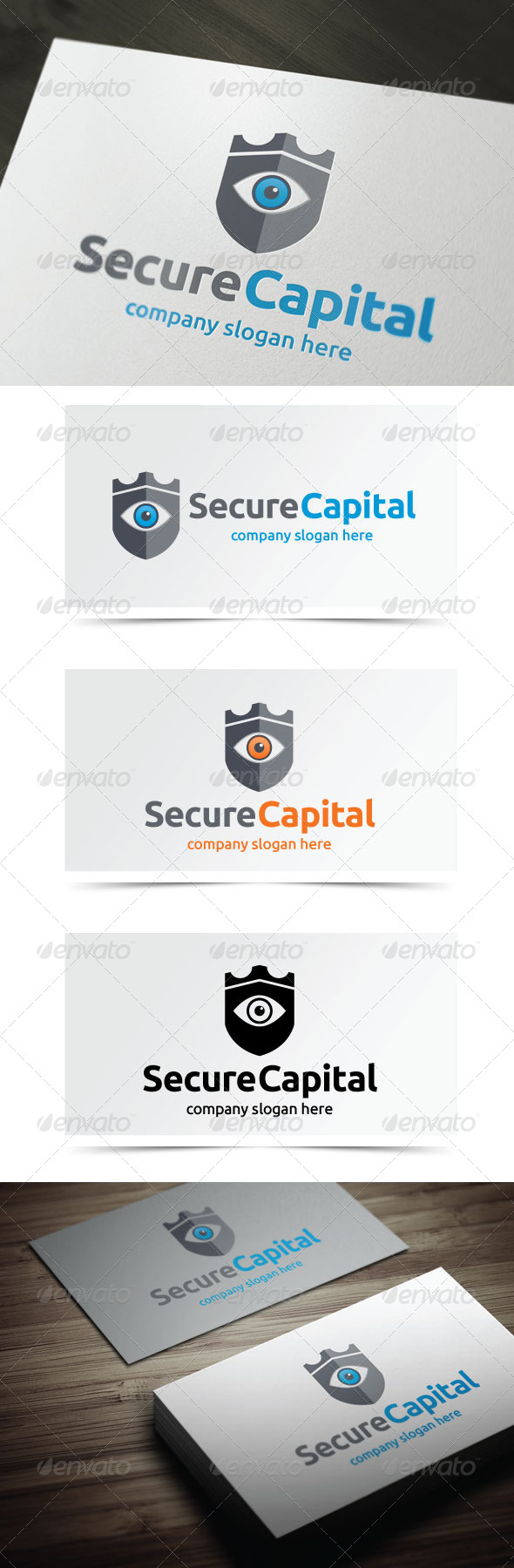 GraphicRiver Secure Capital 5444986