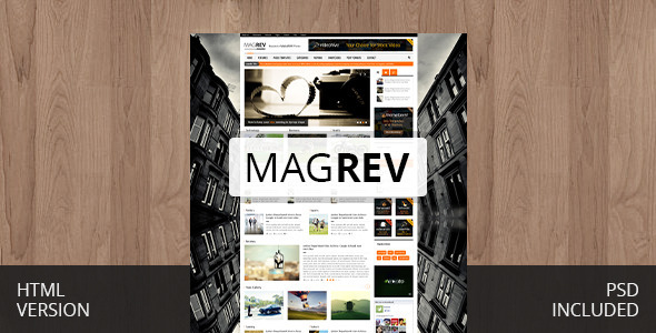 ThemeForest Magrev Magazine & News WordPress Theme 5444993