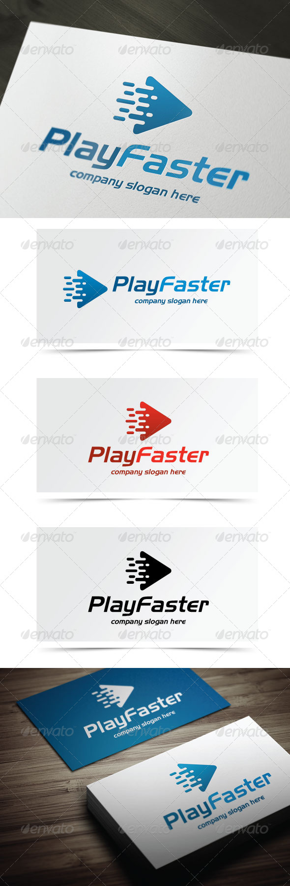 GraphicRiver Play Faster 5444999