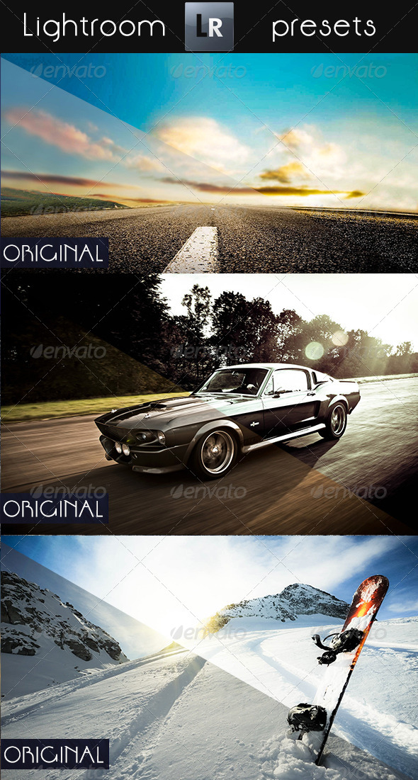 GraphicRiver 8 Mixed Pro Presets 5445346