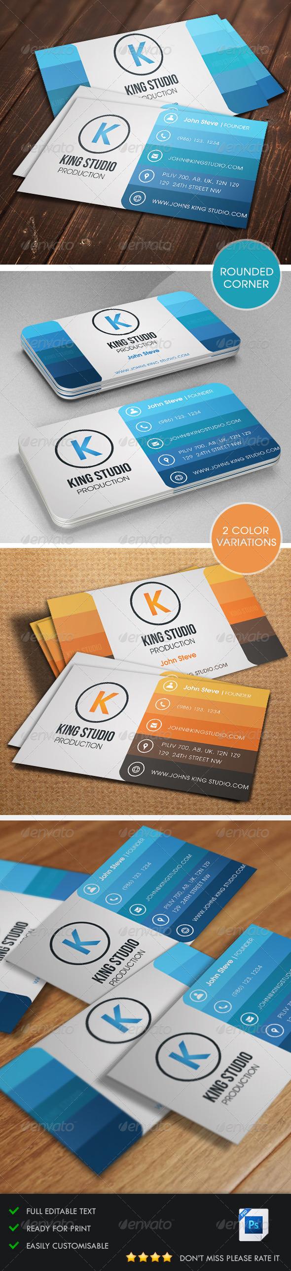 GraphicRiver Creative Business Card v1 5430229