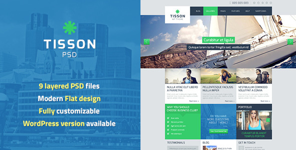 Tisson PSD Template