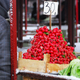 Heap of red radish on market - PhotoDune Item for Sale