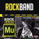 RockBand Muse Template - ThemeForest Item for Sale