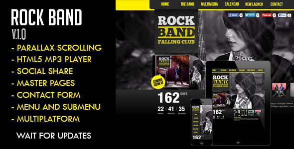 RockBand Muse Template - Creative Muse Templates