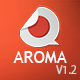 Aroma v1.1 | One Page Muse Theme - ThemeForest Item for Sale