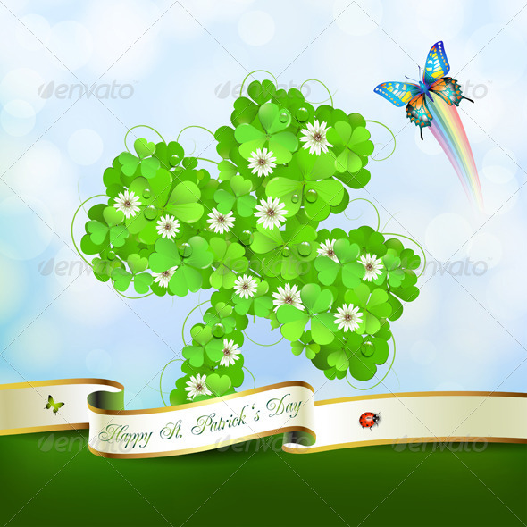 GraphicRiver Saint Patrick s Day card 5446757